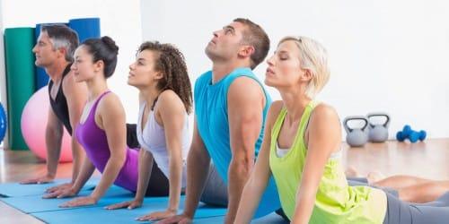 Pilates-Kurs im Fitness Forum