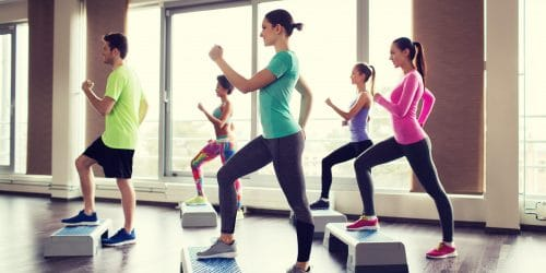 Step-Kurs im Fitness Forum